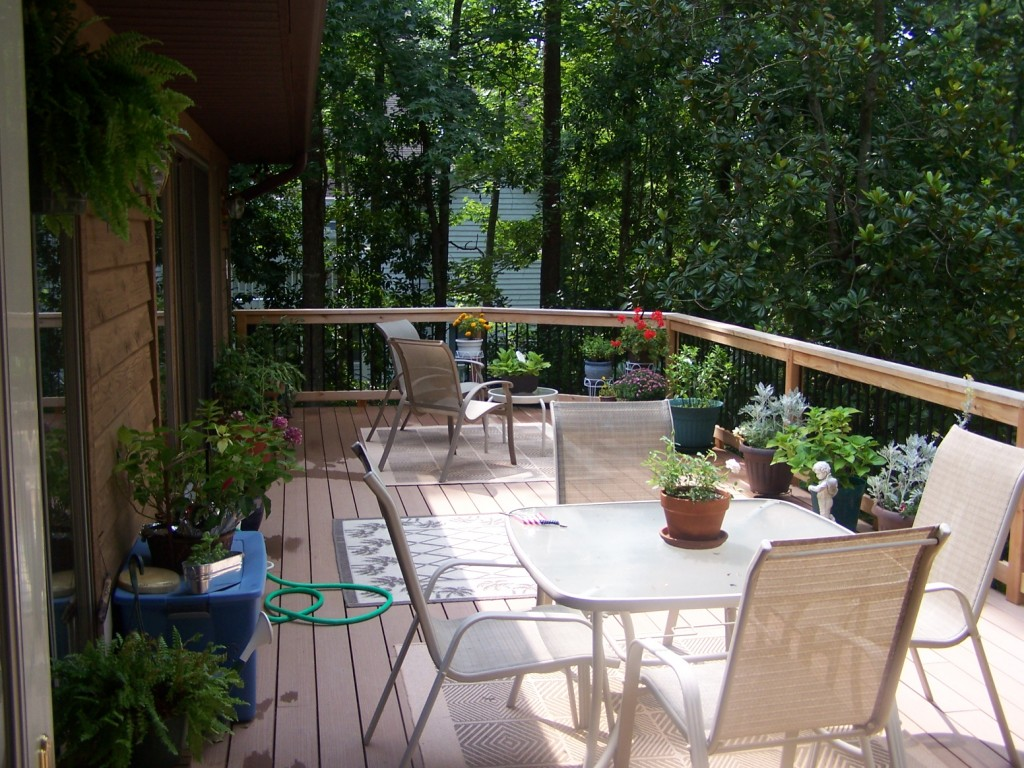 image shows patio conversion from Porch Conversion of Seneca, SC. Sunrooms | Porch Conversions | EZE Breeze Windows